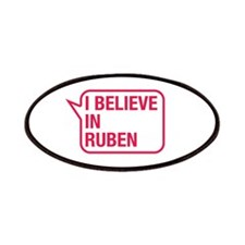 I Believe In Ruben Patches
