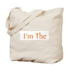 I'm The Evil Twin Tote Bag