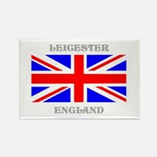 Leicester England Rectangle Magnet