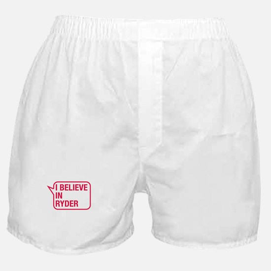 I Believe In Ryder Boxer Shorts
