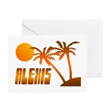 """""""Alexis Tropical"""" Greeting Cards (Pk of 10)"""