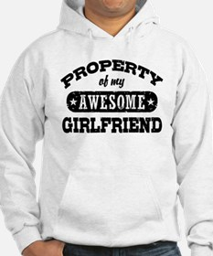 Property Of My Awesome Girlfriend Hoodie