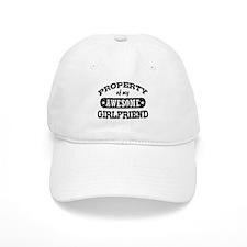 Property Of My Awesome Girlfriend Baseball Cap