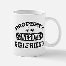 Property Of My Awesome Girlfriend Mug