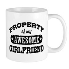 Property Of My Awesome Girlfriend Mug