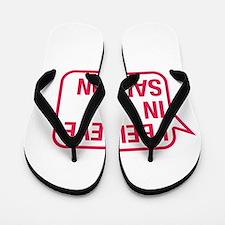 I Believe In Samson Flip Flops
