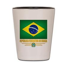 Flag of Brazil Shot Glass