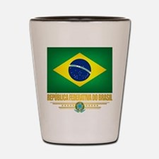 Flag of Brazil Shot Glass