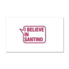I Believe In Santino Car Magnet 20 x 12