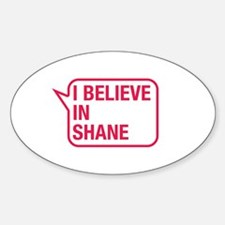 I Believe In Shane Decal