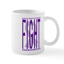 CancerFightPurple Small Small Mug