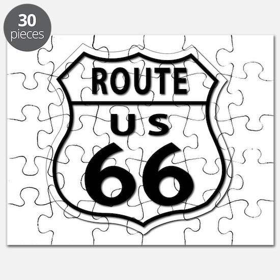 U.S. ROUTE 66 Puzzle