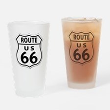 U.S. ROUTE 66 Drinking Glass