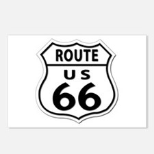 U.S. ROUTE 66 Postcards (Package of 8)