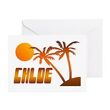 """Chloe Tropical"" Greeting Cards (Pk of 10)"