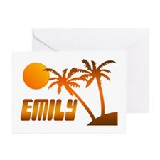 """""""Emily Tropical"""" Greeting Cards (Pk of 10)"""
