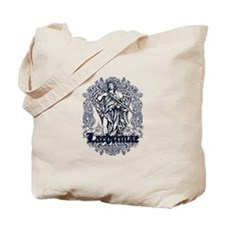 lachrimae blue affected design Tote Bag