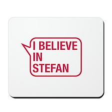 I Believe In Stefan Mousepad
