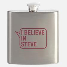 I Believe In Steve Flask