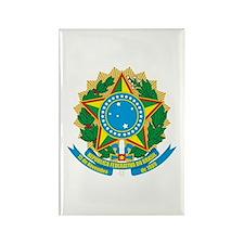 Brazil COA Rectangle Magnet