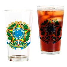 Brazil COA Drinking Glass