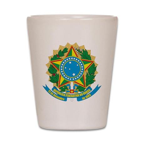 Brazil COA Shot Glass