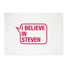 I Believe In Steven 5'x7'Area Rug