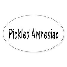 Pickled Amnesiac Oval Decal