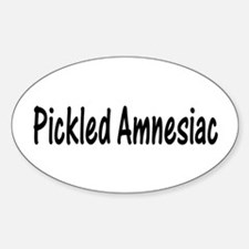 Pickled Amnesiac Oval Decal