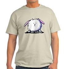 KiniArt Dust Bunny T-Shirt