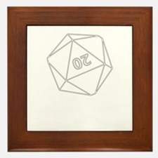 D20 Framed Tile