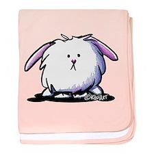 Easter Bunny baby blanket