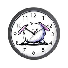 Easter Bunny Wall Clock