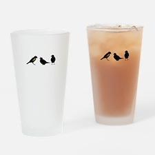 3 little birds Drinking Glass