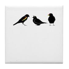 3 little birds Tile Coaster