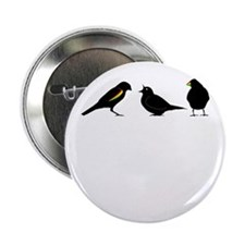 "3 little birds 2.25"" Button"