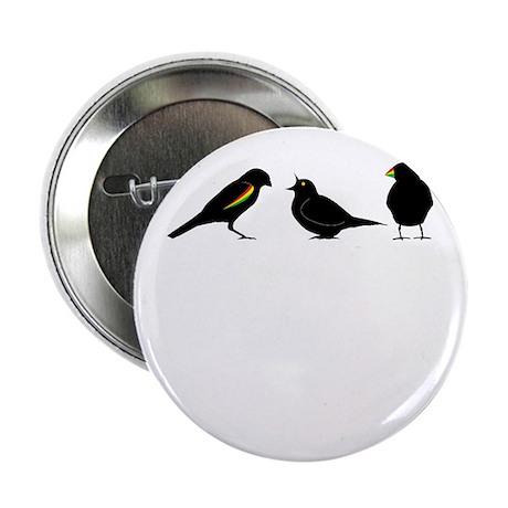 """3 little birds 2.25"""" Button"""