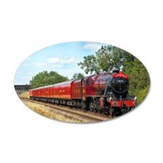 Vintage Steam Engine Wall Decal