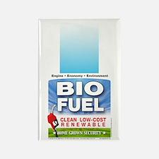 Bio Fuel Clean Rectangle Magnet