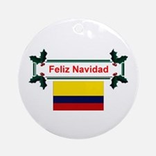 Colombian Feliz Navidad Keepsake Ornament