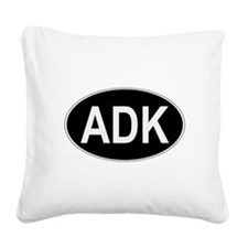 ADK Euro Oval Square Canvas Pillow