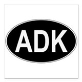 Adk Square Car Magnets