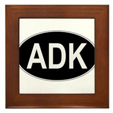 ADK Euro Oval Framed Tile