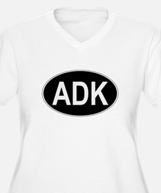 ADK Euro Oval Plus Size T-Shirt