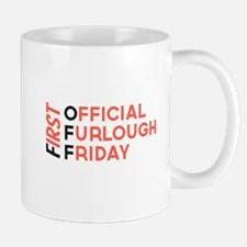 First Official Furlough Friday Logo Mug