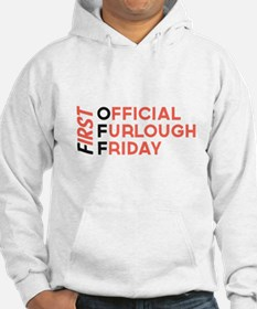 First Official Furlough Friday Logo Hoodie