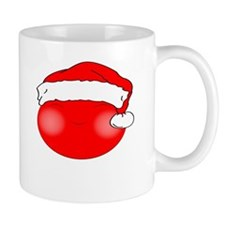 Smiley Red Santa Mug