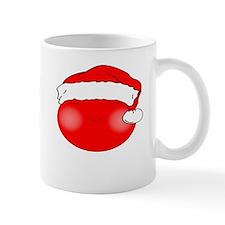 Smiley Red Santa Mug