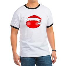 Smiley Red Santa T-Shirt
