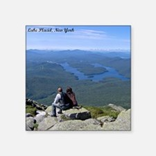 View of Lake Placid Sticker